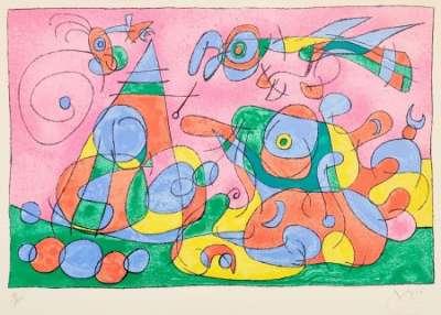 Ubu Roi (Etching and aquatint) - Joan  MIRO
