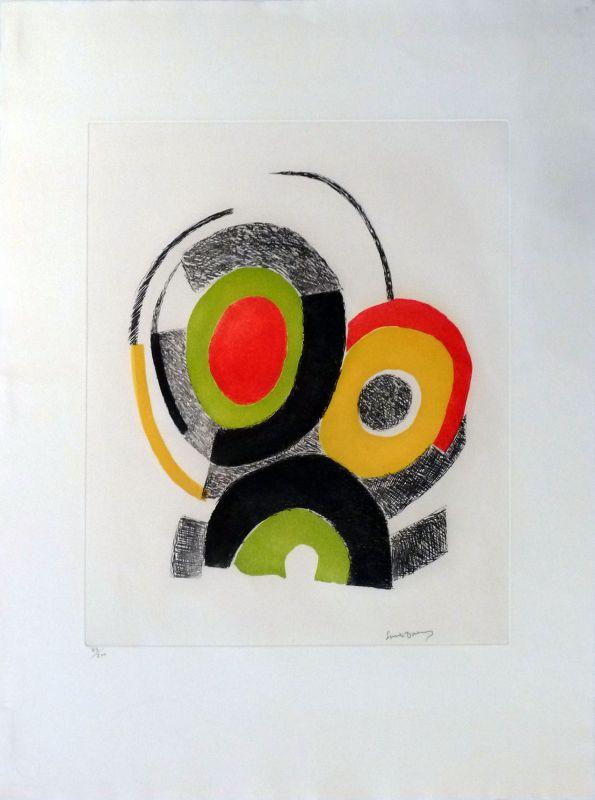 Les illuminations de Rimbaud (Eau-forte et aquatinte) - Sonia DELAUNAY-TERK