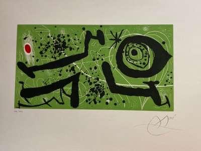 Picasso I Els Reventos (Radierung und Aquatinta) - Joan  MIRO
