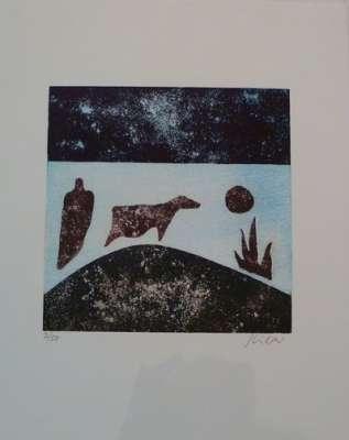 Image rupestre (Gravure) - Stéphane KILAR