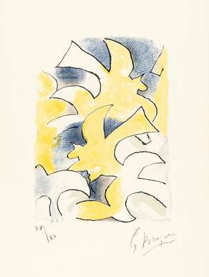 Lettera Amorosa : Migration (Lithograph) - Georges BRAQUE