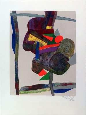 Sirius (Lithographie) - Maurice ESTEVE