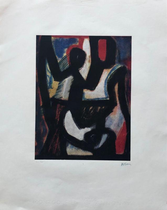 (Estampe) - Jean-Michel ATLAN