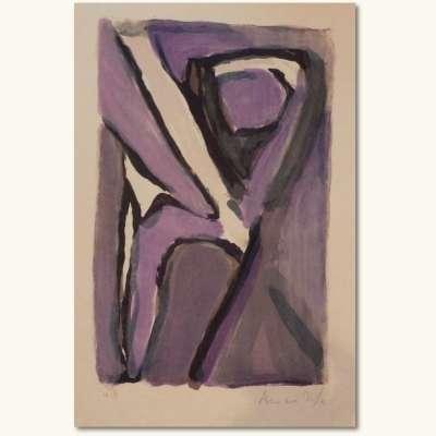 Venin (Lithographie) - Bram   VAN VELDE