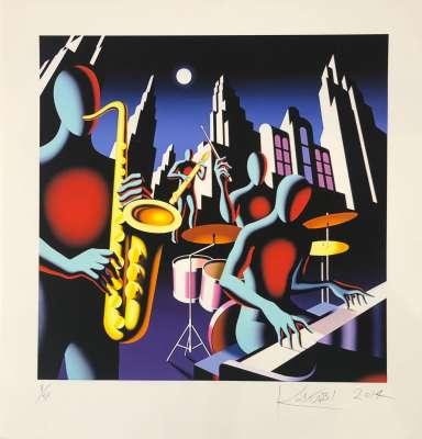 Full Moon Quartett (Silksreen) - Mark KOSTABI