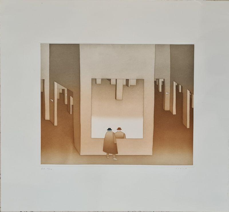 (Gravure) - Jean-Michel FOLON