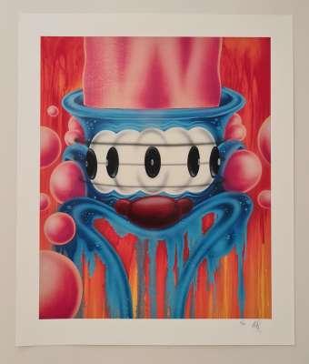 Seen (1961) / Looney Lenny (Silksreen) -  STREET ART