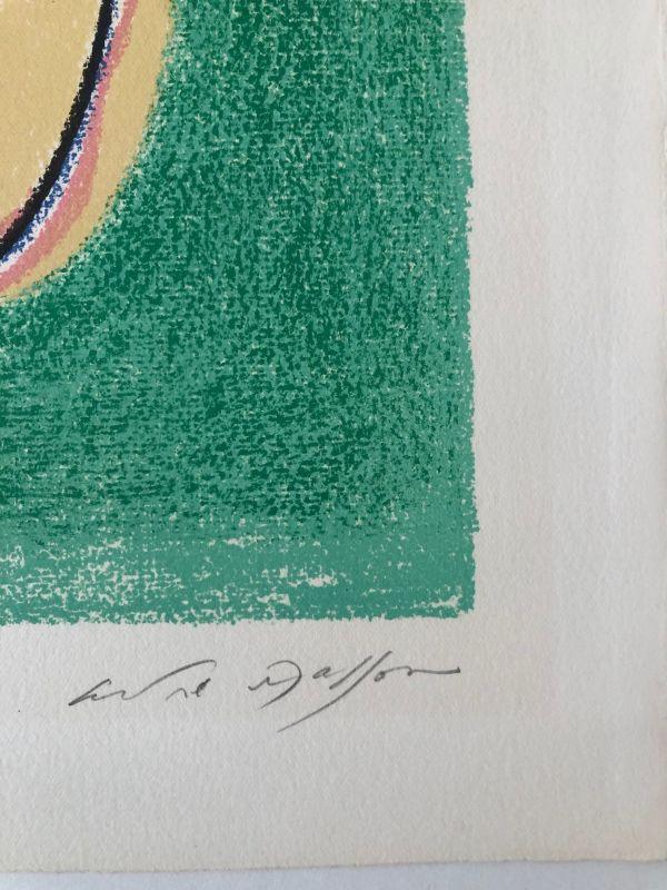 La fabrication du pain (Lithographie) - André  MASSON
