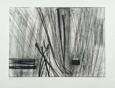 G26 (Eau-forte et aquatinte) - Hans HARTUNG
