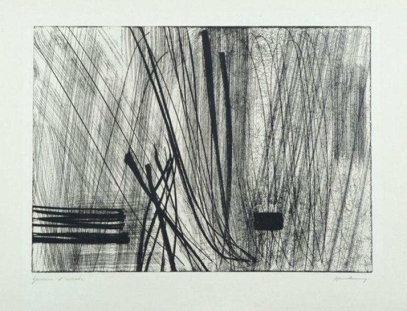 G26 (Etching and aquatint) - Hans HARTUNG