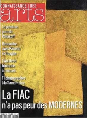 Connaissances des arts (Magazine) - Serge  POLIAKOFF