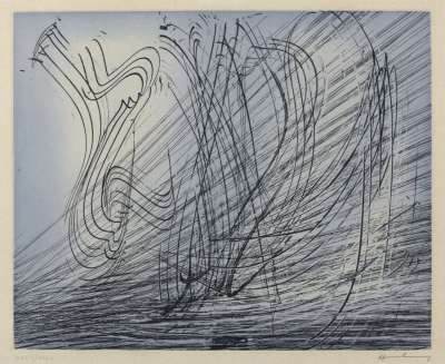 G1973-10 (Etching) - Hans HARTUNG