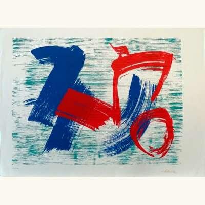 sans titre (Lithographie) -  Gérard  SCHNEIDER