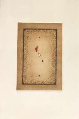 Bleu, Blanc, Rouge (Engraving) - Arthur Luiz  PIZA