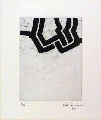 Luze (Etching and aquatint) - Eduardo CHILLIDA