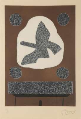 Oiseau de passage (Eau-forte) - Georges BRAQUE