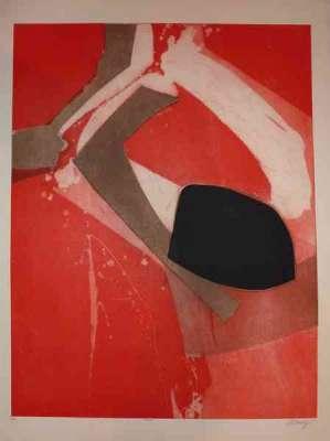 Almelo (Eau-forte et aquatinte) - Bertrand DORNY