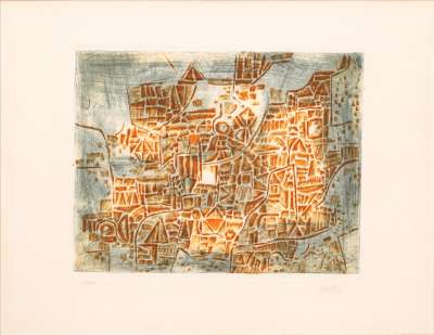 LOUTTRE . B (Marc-Antoine BISSIERE) (Gravure) -  Artistes Divers