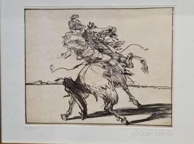 Le cavalier Romain (Stich) - Claude WEISBUCH