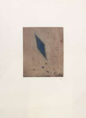 Losange Bleu (Engraving) - Arthur Luiz  PIZA