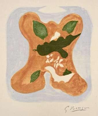 Descente aux enfers planche 2 (Lithographie) - Georges BRAQUE