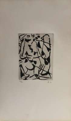 (Gravure) - André LANSKOY