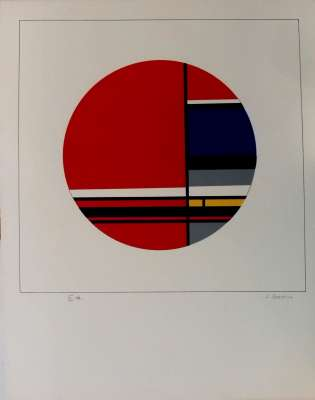 (Serigraph) - Jean GORIN