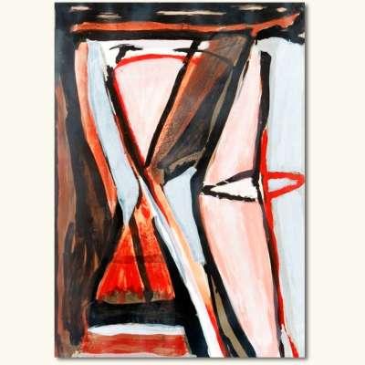 L'attrait (Lithographie) - Bram   VAN VELDE