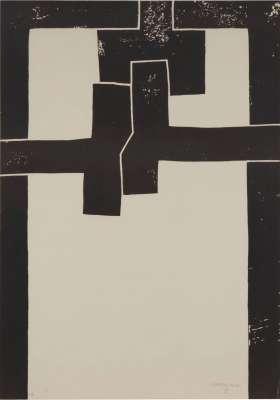 Barcelona I (Lithograph) - Eduardo CHILLIDA
