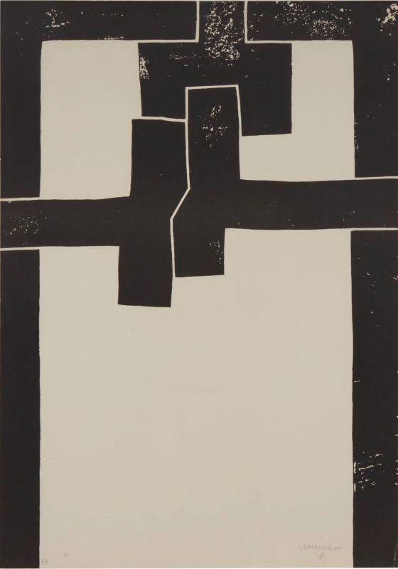 Barcelona I (Lithographie) - Eduardo CHILLIDA