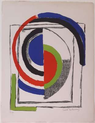 (Farblithographie) - Sonia DELAUNAY-TERK