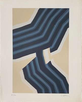 10e anniversaire Fondation Maeght (Lithographie) - Raoul UBAC