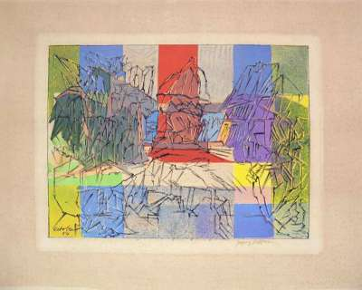 Jacques VILLON (Estampe) -  Artistes Divers