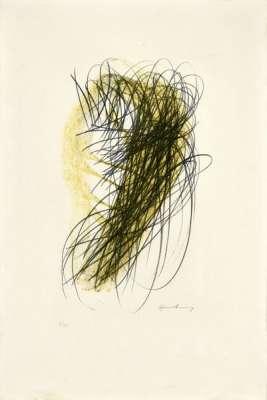 Sans titre (Lithographie) - Hans HARTUNG