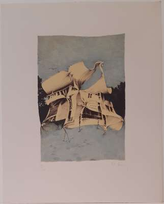 BURY Pol / 10e anniversaire Fondation Maeght (Farblithographie) -  Artistes Divers