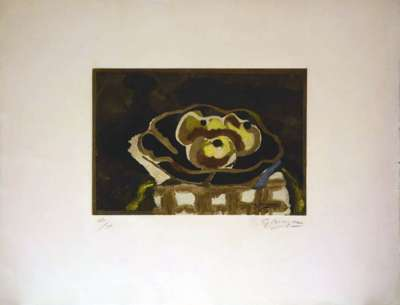 Nature morte (Eau-forte) - Georges BRAQUE