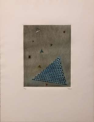 Arrangement of the triangles (Engraving) - Arthur Luiz  PIZA