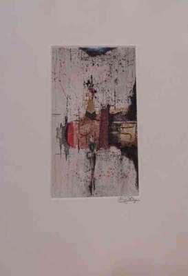 Sans titre (Radierung und Aquatinta) - Johnny FRIEDLAENDER