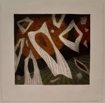 Composition 10 (Engraving) - Henri GOETZ