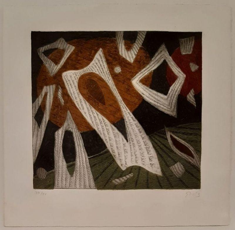 Composition 10 (Gravure) - Henri GOETZ