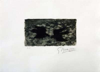 Le Pays total (Lithographie) - Georges BRAQUE