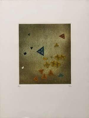 Passage secret (Gravure) - Arthur Luiz  PIZA
