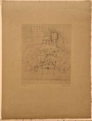 Hybrid woman (Engraving) - Hans BELLMER