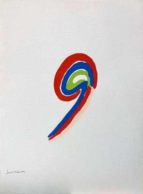 LES ILLUMINATIONS d'Arthur RIMBAUD (Stencil) - Sonia DELAUNAY-TERK