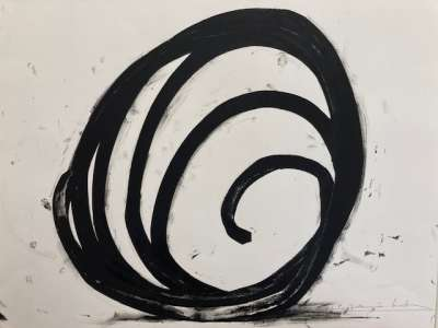 Ligne indéterminée (Lithographie) - Bernar VENET