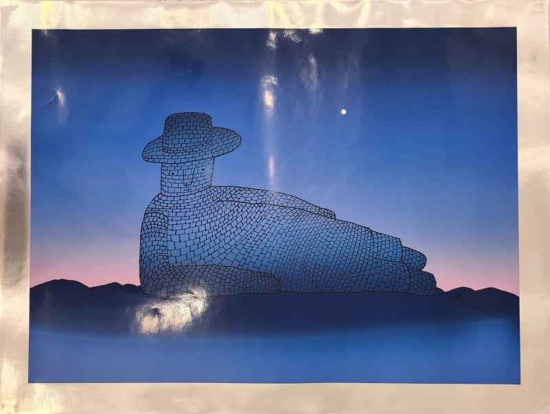 Le rêve de pierre (Sérigraphie) - Jean-Michel FOLON