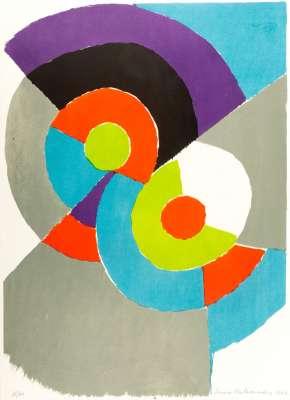 (Lithograph) - Sonia DELAUNAY-TERK