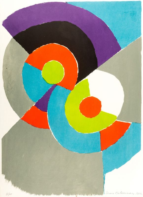 (Lithographie) - Sonia DELAUNAY-TERK