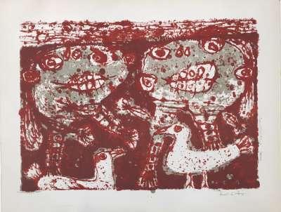KITO Akira, Paix (Lithographie) -  Artistes Divers