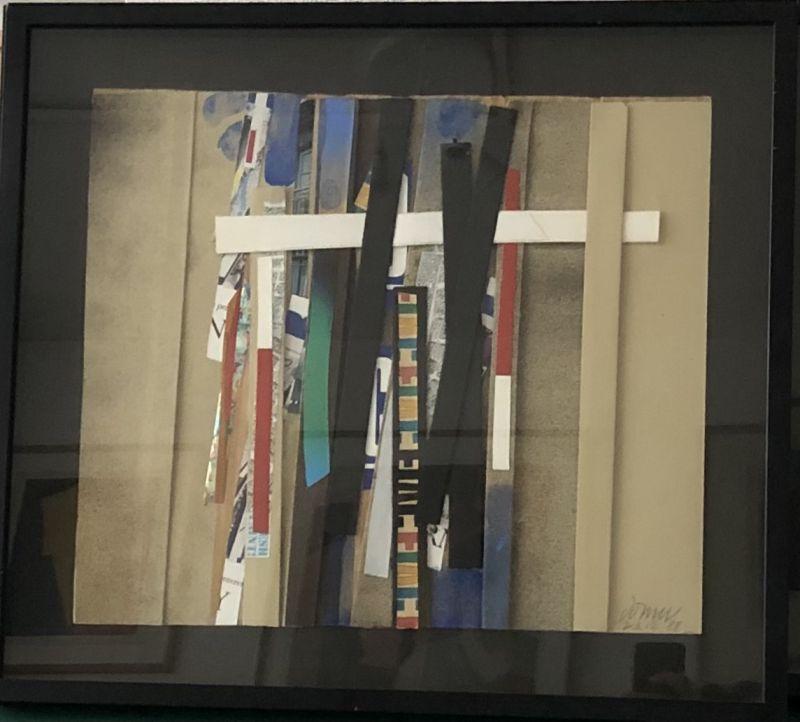 Sans titre (Collage) - Bertrand DORNY